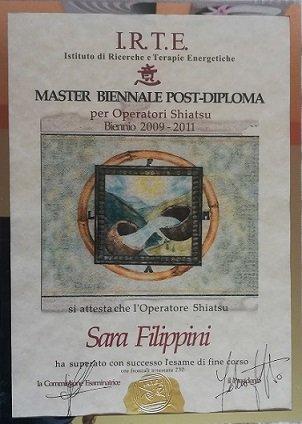 Shiatsu. Master post-diploma